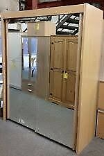 Large Mirrored Wardrobe, very good condition