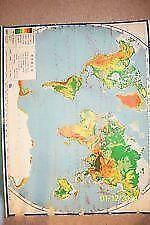 Roll Down World Map.Pull Down Map Ebay