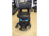 New Go Pride delightful small motorised wheelchair
