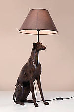 A greyhound. And a lamp. Why wouldn't you?