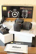 Like New Nikon  D60 Digital SLR Camera