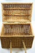 Wicker Picnic Basket