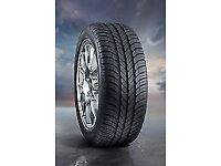 2X PREMIUM BRAND NEW GOODYEAR OPTIGRIP TYRES with labels SIZE 205/55/ R16 V