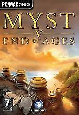 Myst V: End Of Ages PC NEW and Sealed Mac and Windows Myst 5 End of Ages