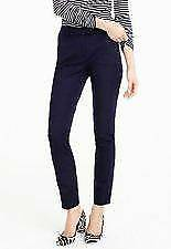Tall Maddie pant in two-way stretch cotton in navy  (J.CREW).