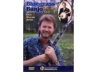 Don Reno banjo dvd