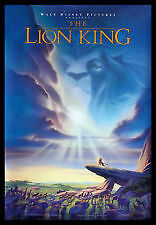 The Lion King-Original Movie Poster-DOUBLE SIDED! Edmonton Edmonton Area image 1