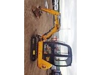 mini digger wanted job etc
