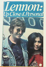 1980 Lennon Up Close & Personal John Lennon Beatle Book