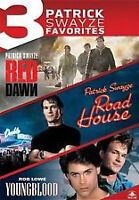 3 DVD Patrick Swayze (Red Dawn + Road House + Youngblood)