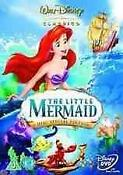 Disney Little Mermaid DVD