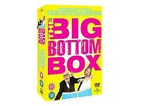 The Big Bottom Box DVDs collection of live shows, Rik Mayall, Adrian Edmondson
