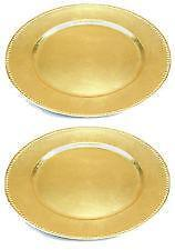 Plastic Charger Plates  sc 1 st  eBay & Charger Plates   eBay
