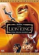 Lion King DVD Platinum