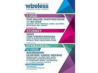 Wireless Festival ticket Saturday 7th July