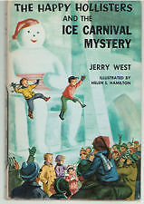 THE HAPPY HOLLISTERS ice carnival mystery VINTAGE HC BOOK 1958 Kitchener / Waterloo Kitchener Area image 1