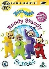 TELETUBBIES DVD READY STEADY DANCE CHILDRENS KIDS CBEEBIES RARE
