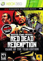 Jeu Red Dead Redemption Game of the year XBOX360