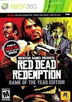 Jeu Red Dead Redemption Game of the year XBOX360.