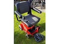 Go Pride - delightful small motorised wheelchair