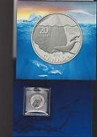 2013 'Iceberg' $20 Pure Silver Coin .9999 Fine.