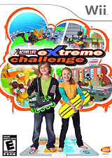 Wii extreme Challenge game with mat