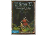 Amiga 500 Classic Game-Ultima Warriors Of Destiny
