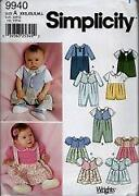 Simplicity Baby Patterns