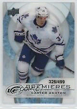 2012-13 Upper Deck Ice Carter Ashton Toronto Maple Leafs Rookie