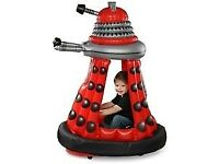 Doctor Who Red 6v electric Ride In Dalek for indoor or outdoor use age 3-6