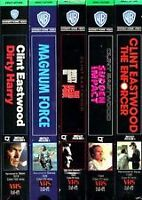 The Complete Dirty Harry Boxset (VHS)