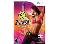 Fantastic Zumba Fitness for the Wii (with fitness belt.