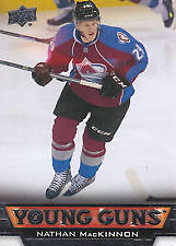 Nathan MacKinnon rookie card & inserts