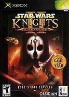Star Wars Knight of the old republic 2 XBOX.