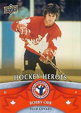 Bobby Orr Hockey Heroes Card Upper Deck