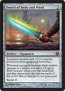 Magic The Gathering Sword of Body and Mind