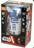 """Star Wars R2-D2 Bubble Blowing Machine 16""""Lights&Rotating"""