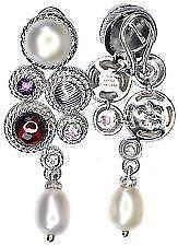 Judith Ripka Pearl Earrings