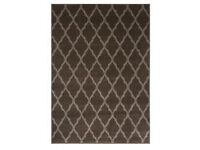 Brand new dark brown verona rug!