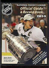 NHL Official Guide & Record Book 2010
