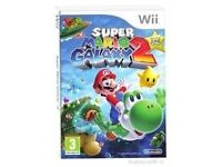 Wanted SUPER MARIO GALAXY 2 GAME for Nintendo Wii