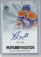 Ryan Nugent Hopkins Hockey Rookie