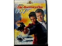 box of 25 die another day dvds sealed