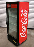 HABCO made Coca Cola fridge with 4 adjustable shelves