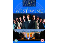 The West Wing Series 1-2-3 DVDs