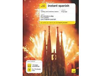 Teach Yourself Instant Spanish by Elisabeth Smith (Mixed media product, 2006)