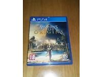 Ps4 game Assassins creed origins like new