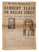 John F Kennedy Newspaper