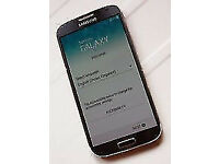 SAMSUNG GALAXY S4 CHARCOAL BLACK 16GB MOBILE PHONE***UNLOCKED**