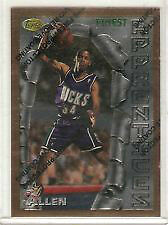 1996 - 97 Topps Finest Ray Allen Rookie Card # 22